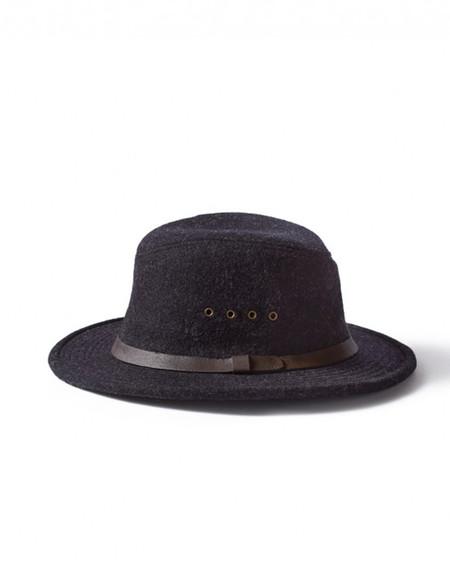 Filson Wool Packer Hat Charcoal
