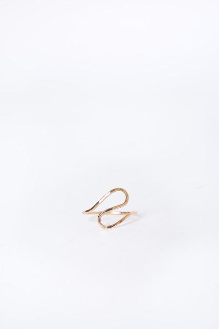 Melissa Joy Manning Wave Ring in Gold