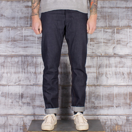 Left Field NYC Charles Atlas - 13oz Cone Mills Dark Indigo