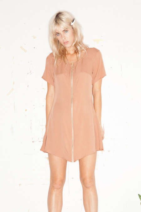 Lykke Wullf Kate Mini Zip Up Dress
