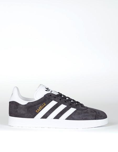 Adidas Gazelle Utility Black White Gold