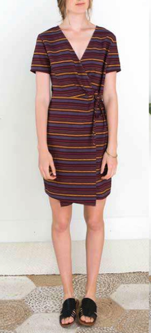 Dagg & Stacey Hunter Wrap Dress