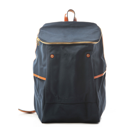 Southern Field Industries Indigo and Tan SF Backpack