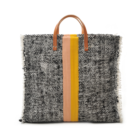 Clare V Summer Twill Simple Tote