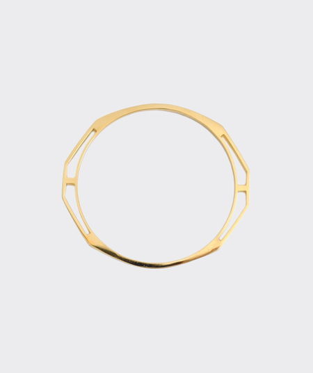 AEA Reflector Bangle - 24K Gold Vermeil