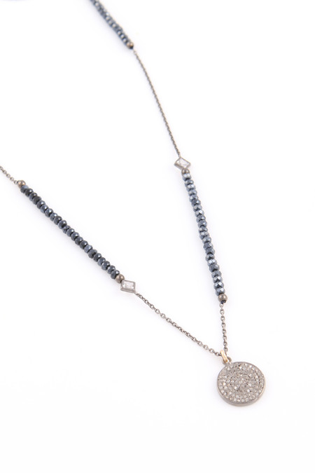 Nickho Rey Midnight Disc Necklace