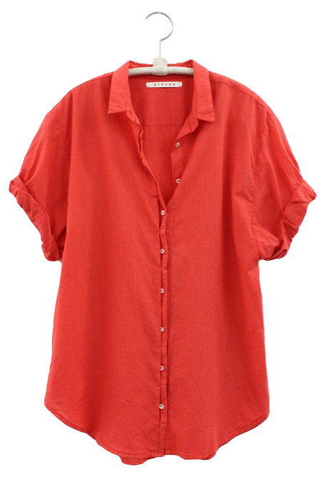 Xirena CHANNING SHIRT IN RED