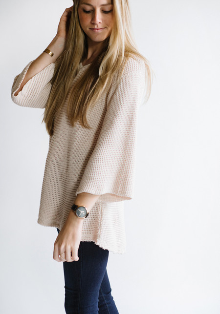 Sunday Supply Co. Bell Sleeve Sweater