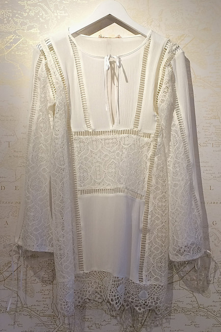 For Love & Lemons 'Caracas' Lace Mini Dress