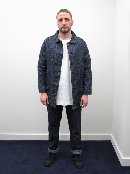 ZED Mid-Length Catch All Jacket - Silk Nep Denim