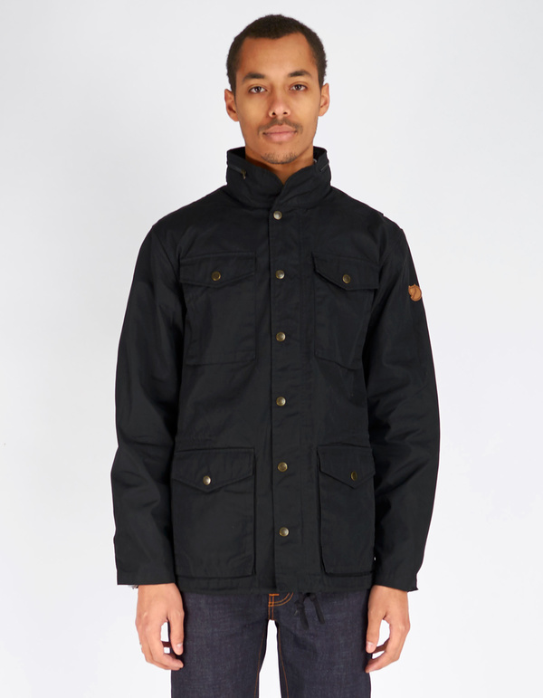 Fjallraven Men's Raven Jacket Black