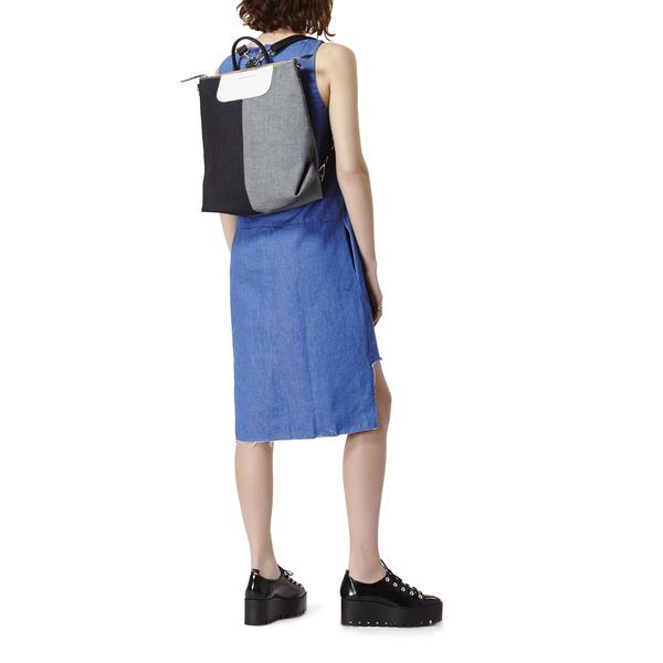 Graf & Lantz Bedford convertible backpack Eclipse denim
