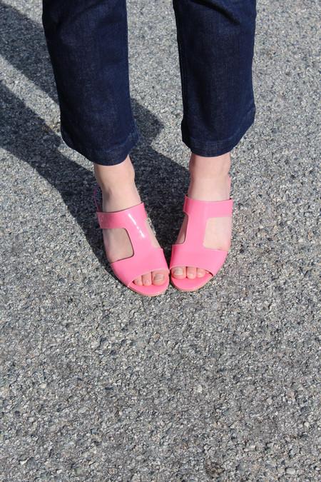 Rachel Comey Lea Cheekie Pink Patent