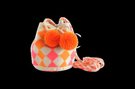 Shop Mariya Pink and Orange Mini Mochila NEW!