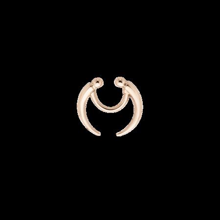 Crescent Septum Ring - Rose Gold || Meadowlark