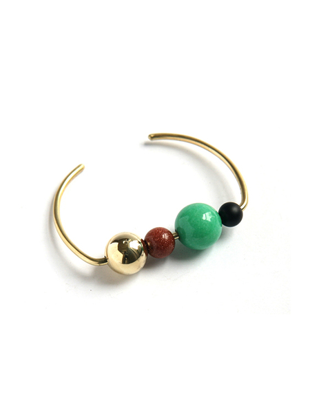 Mau Orion Cuff – Green Opal