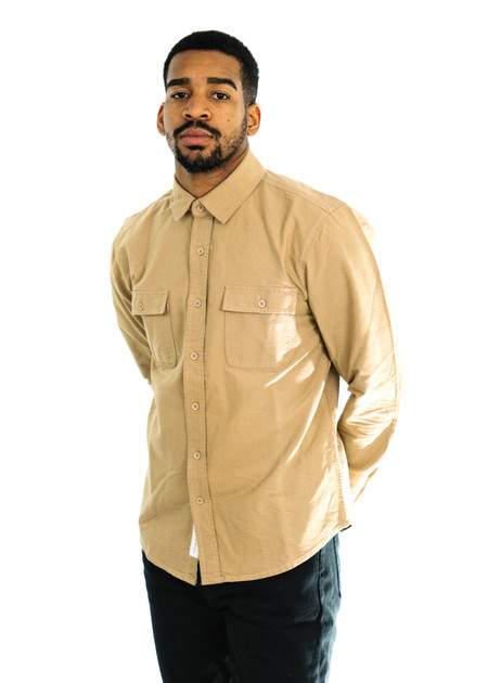Native Youth Covert Shirt (Sand)