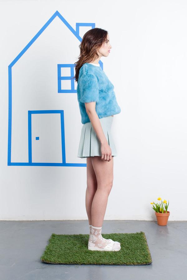 Aza Ziegler Fur T-shirt