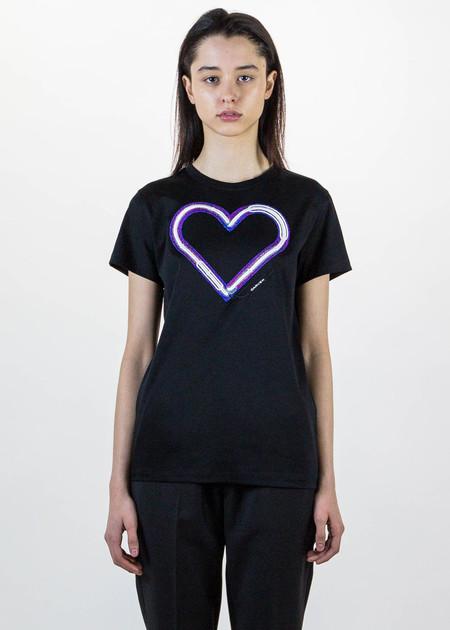 Carven Black Heart T-Shirt