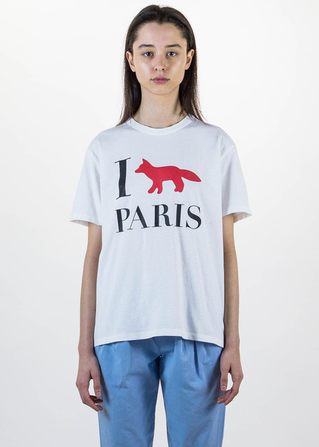 Maison Kitsune I Fox Paris T-Shirt
