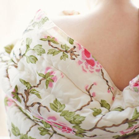 Erica Tanov lovebird quilt