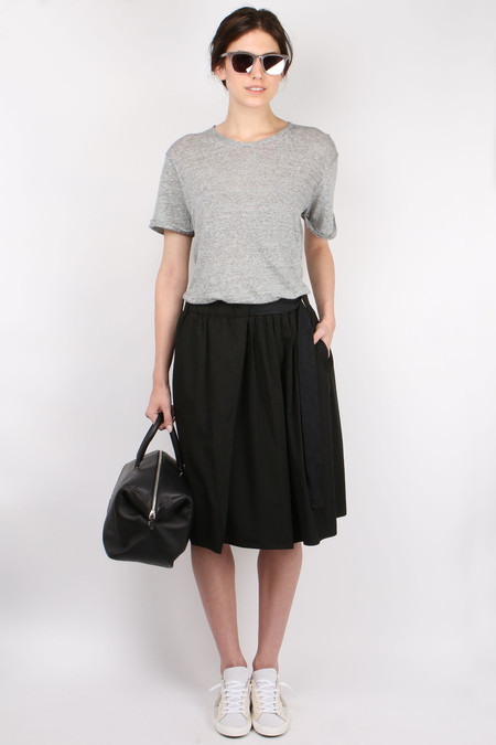 Pomandere Belted Mid Skirt