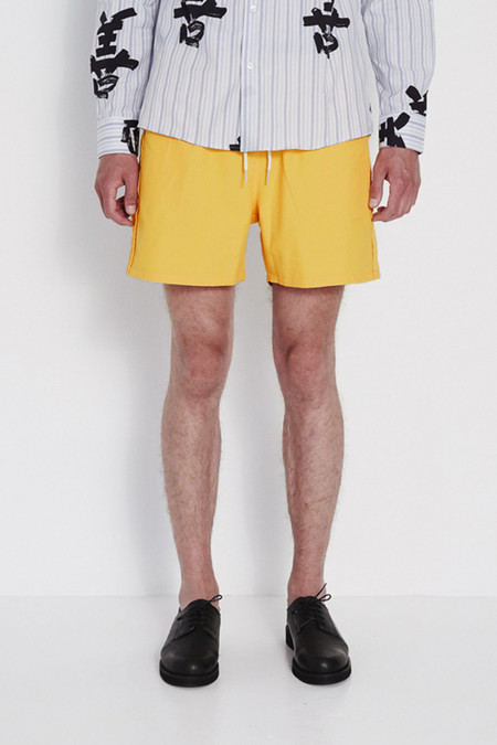 Soulland William Swim Shorts in Orange