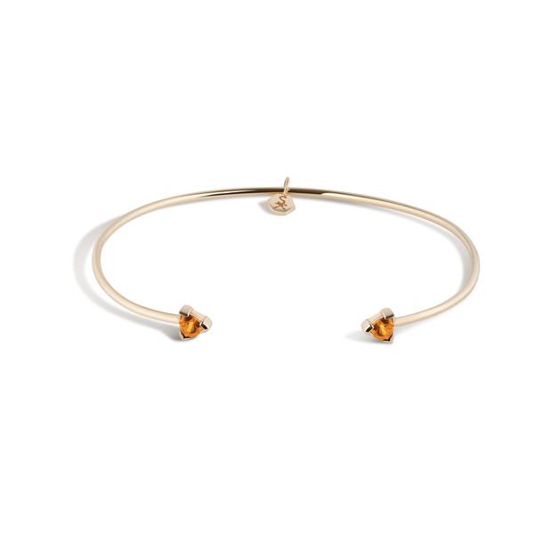 Shahla Karimi 14K Gold Birthstone Cuff No. 1