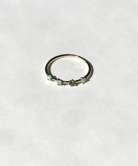 Wwake Four Step Ring