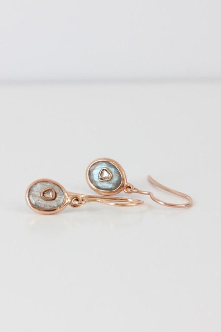 Pascale Monvoisin Pascale Monvoisin Gemstone and diamond earrings