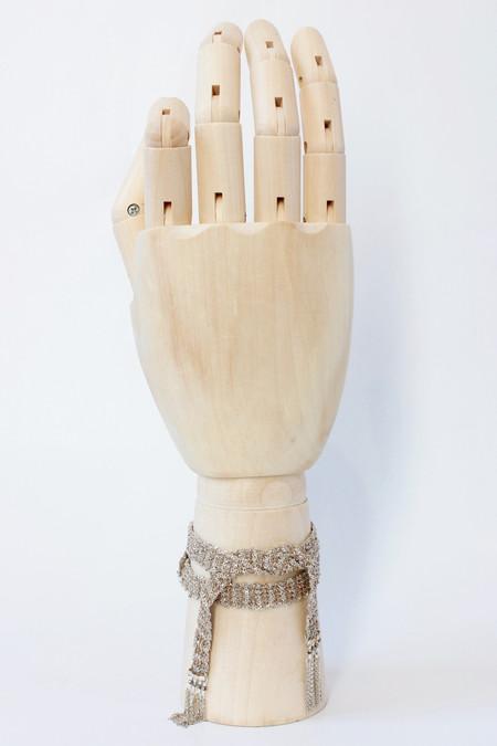 Marie Laure Chamorel Woven wrap bracelet