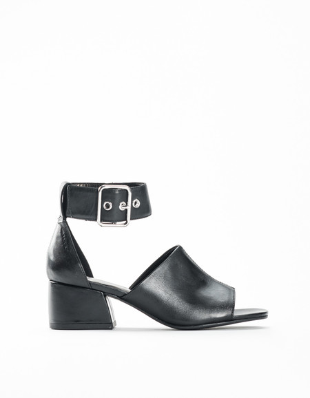 Vagabond Saide Ankle Strap Mule Black