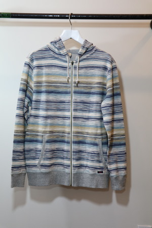 Faherty Reversible Terry Zip Hoodie