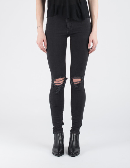 Neuw Marilyn Skinny Jean Busted Black