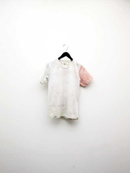 Audrey Louise Reynolds T-Shirt - Dirty Water/Pink Sleeve