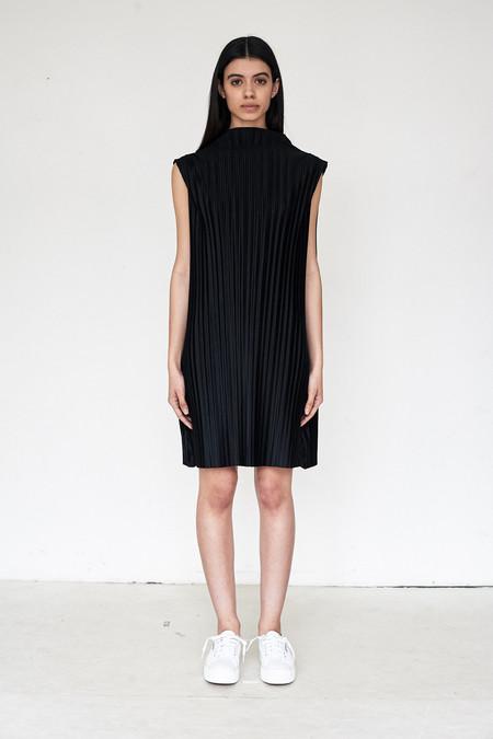 Assembly New York Poly Pleat Shift Dress