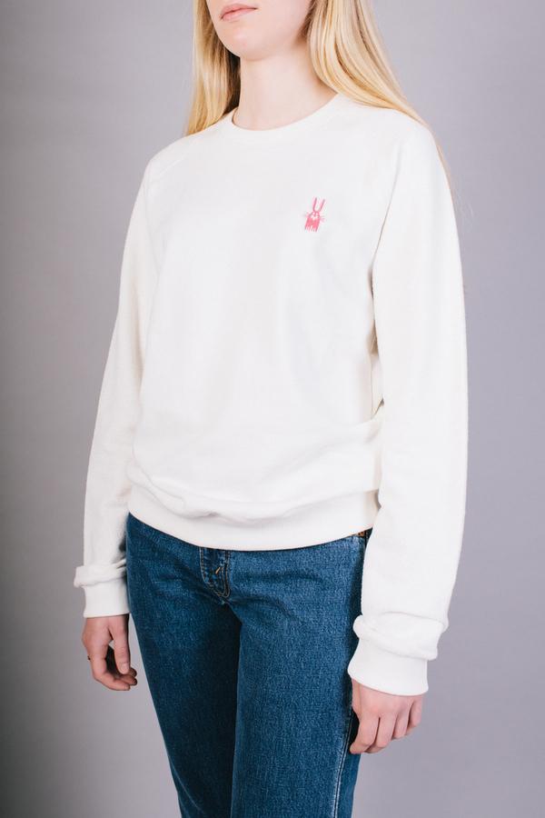 Peter Jensen X Peanuts Reverse Sweatshirt White
