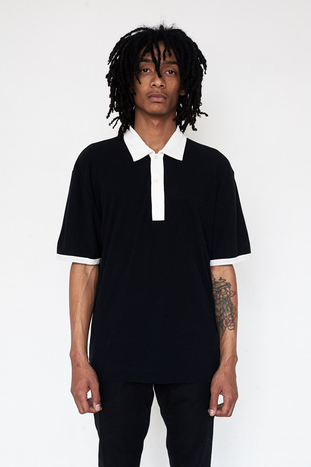 Our Legacy Cotton S/S Pique Shirt