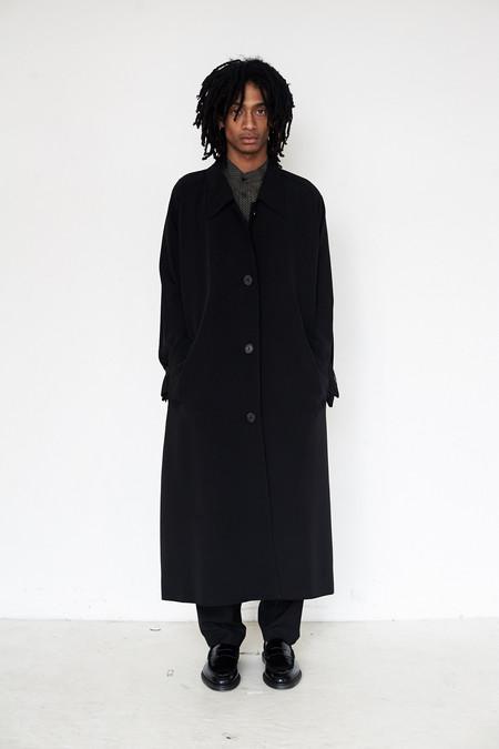David Michael Silk Trench Coat