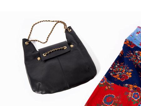 Maison Mayle Jeanne D'Oro Hobo Bag