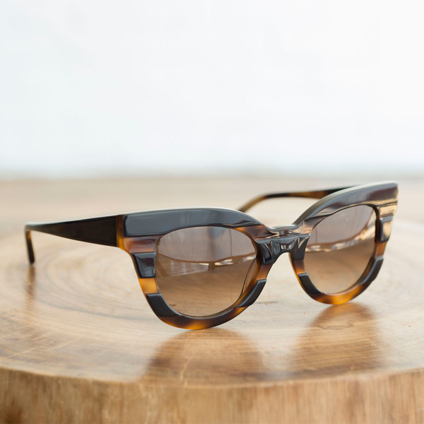 Kate Young for Tura K514 Black Tortoise