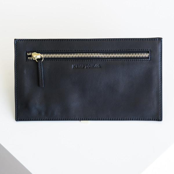 Kempton & Co Topsy Turvy Wallet - Black