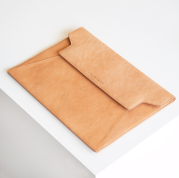 The Horse Laptop Cover Vegetable Tan