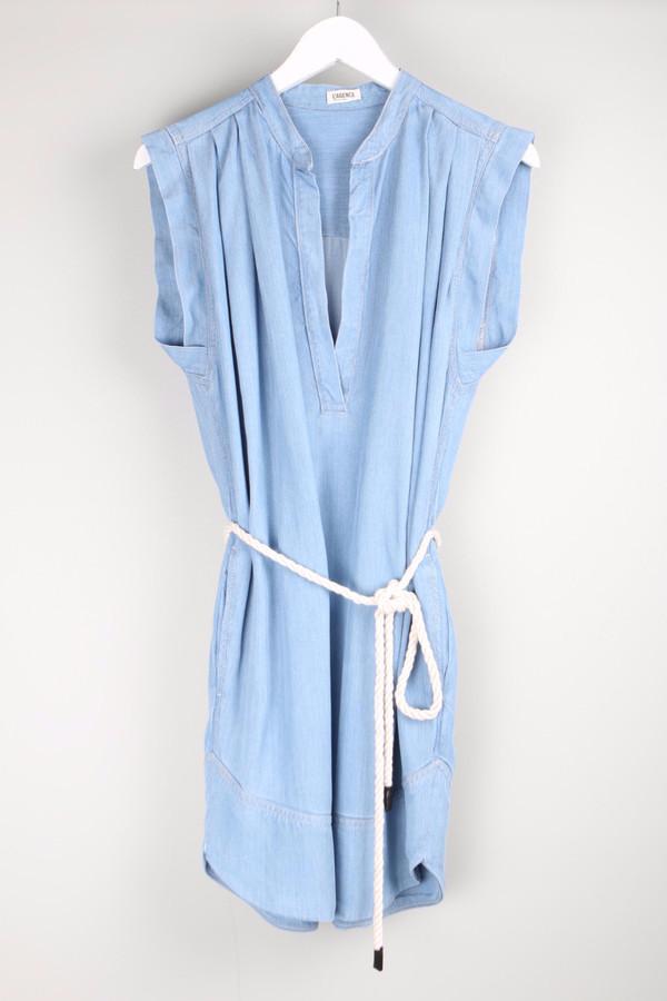 L'agence Sleeveless Shirt Dress