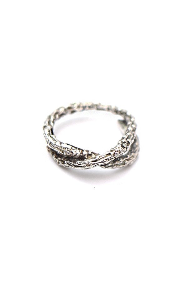 Aetas Ramus Silver Ring