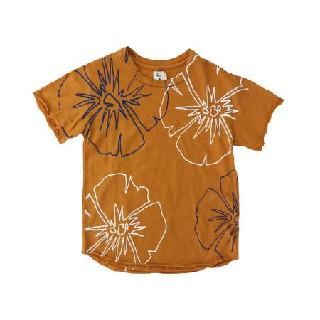 Kids nico nico Hibiscus T-Shirt