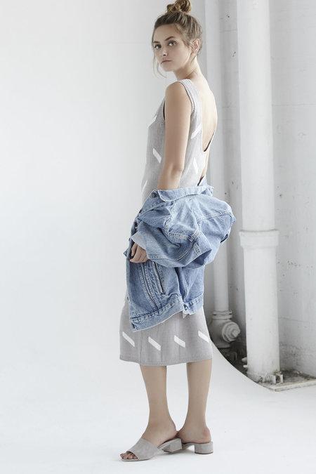 Callahan Geo Lowback Dress