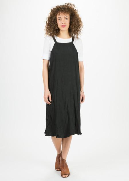 Hazel Brown Drop Back Dress