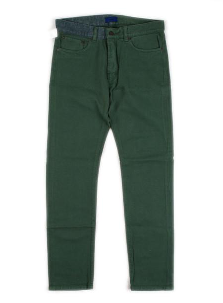 Etudes - Slim Washed Denim Green