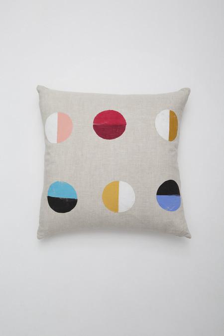 Caroline Z Hurley Natural Moons Pillow